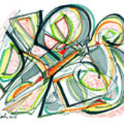 2010 Abstract Drawing Seventeen Poster