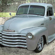 '53 Chevy Truck Poster