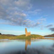 Ardvreck Castle - Scotland Poster