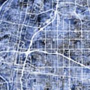 Albuquerque New Mexico City Street Map Poster