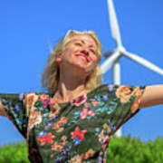 Alternative Energy Concept Poster