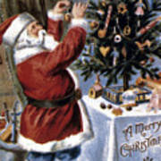 American Christmas Card Poster