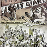 Anti-immigrant Cartoon Poster