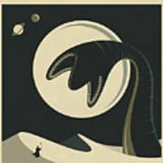 Arrakis Travel Poster  Poster