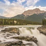 Athabasca Falls Jasper National Park Canada Poster
