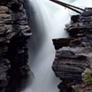 Athabasca Falls Poster