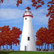 Autumn At Marblehead Poster