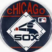 Baseball Button Poster