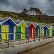 Beach Huts 1 Poster