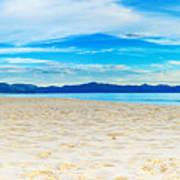 Beach Panorama Poster