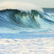 Beautiful Wave Breaking Poster