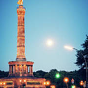 Berlin - Victory Column Poster