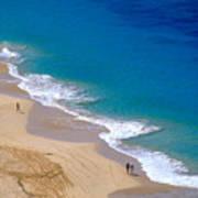 Big Beach On Big Island Of Hawaii Poster