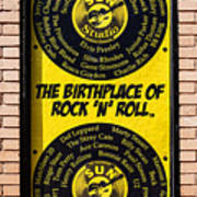 Birthplace Of Rock N Roll Poster