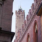 Bologna Tower Poster