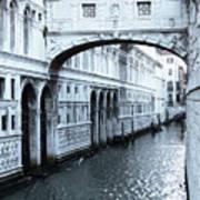 Bridge Of Sighs, Venice, Italy Poster