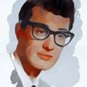 Buddy Holly, Music Legend Poster