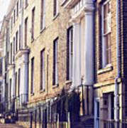 Bury St Edmunds Buildings Poster