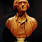 Bust Of Thomas Jefferson  Poster