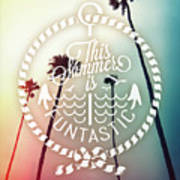 California Palms I Poster