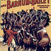 Circus Poster, 1920s Poster
