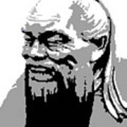 Confucius - Portrait By Asbjorn Lonvig Poster