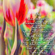 2 Corinthians 3 6 Poster