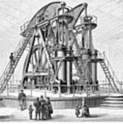 Corliss Steam Engine, 1876 Poster