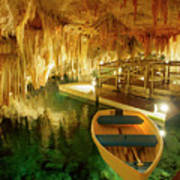 Crystal Cave In Hamilton Parish Bermuda Poster