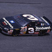Dale Earnhardt # 3 Goodwrench Chevrolet At Daytona Poster