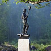 Devil's Den Monument At Gettysburg Poster