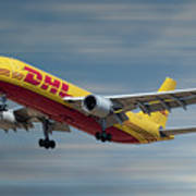 Dhl Airbus A300-f4 Poster