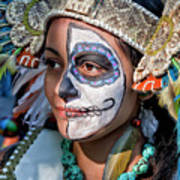 Dia De Los Muertos - Day Of The Dead 10 15 11 Procession Poster by Robert Ullmann