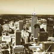 Downtown Indianapolis Poster
