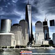 Dramatic New York City Poster