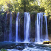 Duden Waterfall - Turkey Poster