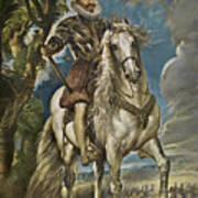 Equestrian Portrait Of The Duke Of Lerma Poster