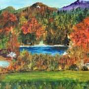 Fall In The Adirondacks Poster