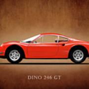 Ferrari Dino 246 Gt Poster