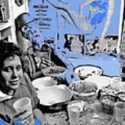 Film Homage Esther Williams Skirts Ahoy 1952 St. Patrick's Day Party Tucson Arizona 1985-2012 Poster