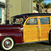 Ford California Woody Station Wagon Poster