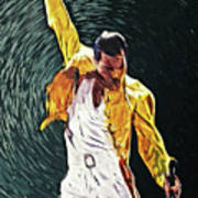 Freddie Mercury Poster