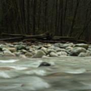 Granite And Water, Lynn Creek Poster