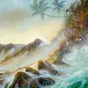 Hawaii Seascape Poster