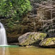 Hocking Hills Waterfall Poster