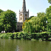 Holy Trinity Church At Stratford-upon-avon Poster