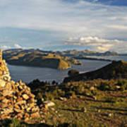 Isla De Sol Bolivia Poster