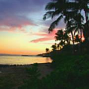 Island Sunset Poster
