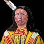 Jack Red Cloud Poster