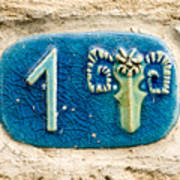 Jaffa, Zodiac Street Sign  Poster